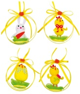 Easter Hanging Decoration 7 cm
