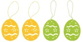 Hanging Egg 7 cm, 4 pcs Bag