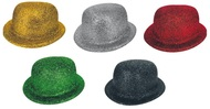 Bowler Hat with Glitter 23 cm