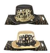 HAPPY NEW YEAR Hat on Clip 13 cm