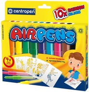 AIR PENS for paper, 10 pcs, vivid colours