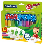 AIR PENS for fabric, 10 pcs