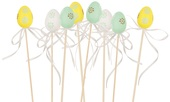 Plastic Egg on Stick 4 cm + Stick