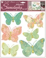 Wall Sticker 30,5 x 30,5 cm, Butterflies