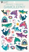Stickers 3D 14 x 25 cm, Sea Life