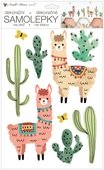 Wall Stickers 24 x 42 cm, Llamas