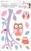 Wall Stickers 24 x 42 cm, Owls