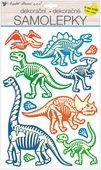 Wall Sticker Glow in the Dark 41 x 25 cm, Dinos