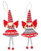 Hanging Knitted Angel 15 cm