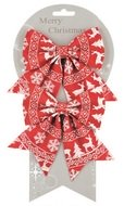 Bow with Norwegian Pattern 13 cm, 2 pcs