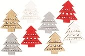 Wooden Tree 3,5 cm 8 pcs